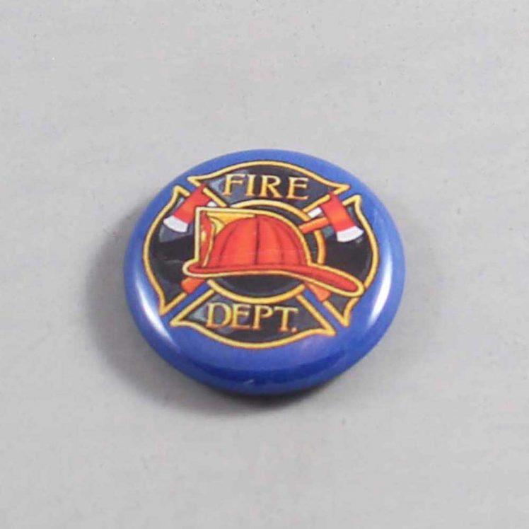 Firefighter Button 14 Navy Blue