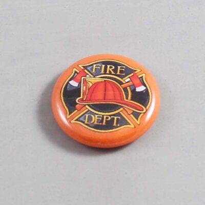 Firefighter Button 14 Orange