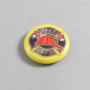 Firefighter Button 14 Yellow