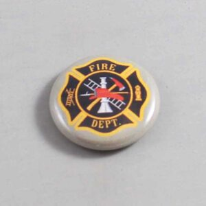 Firefighter Button 15 Gray