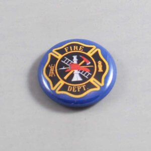 Firefighter Button 15 Navy Blue