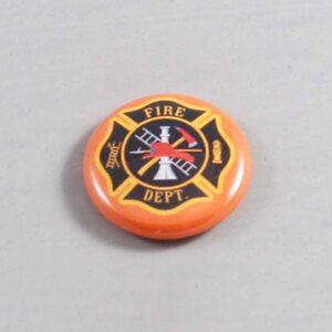 Firefighter Button 15 Orange