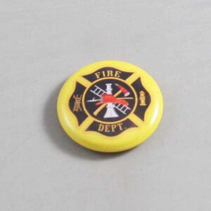 Firefighter Button 15 Yellow
