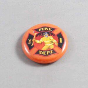 Firefighter Button 16 Orange