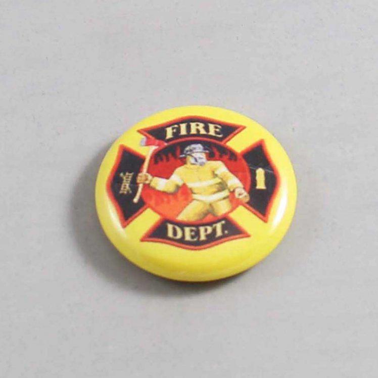 Firefighter Button 16 Yellow