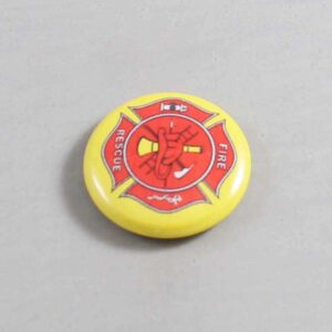 Firefighter Button 17