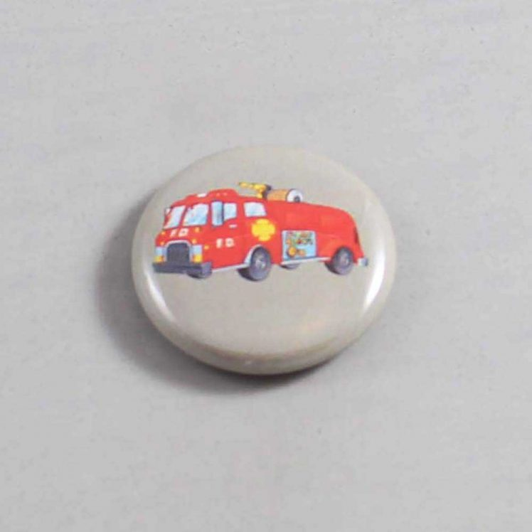 Firefighter Button 18 Gray
