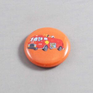 Firefighter Button 18 Orange
