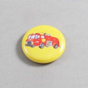 Firefighter Button 18 Yellow