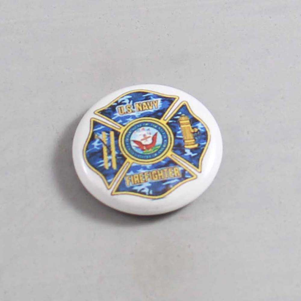 Firefighter Button 35