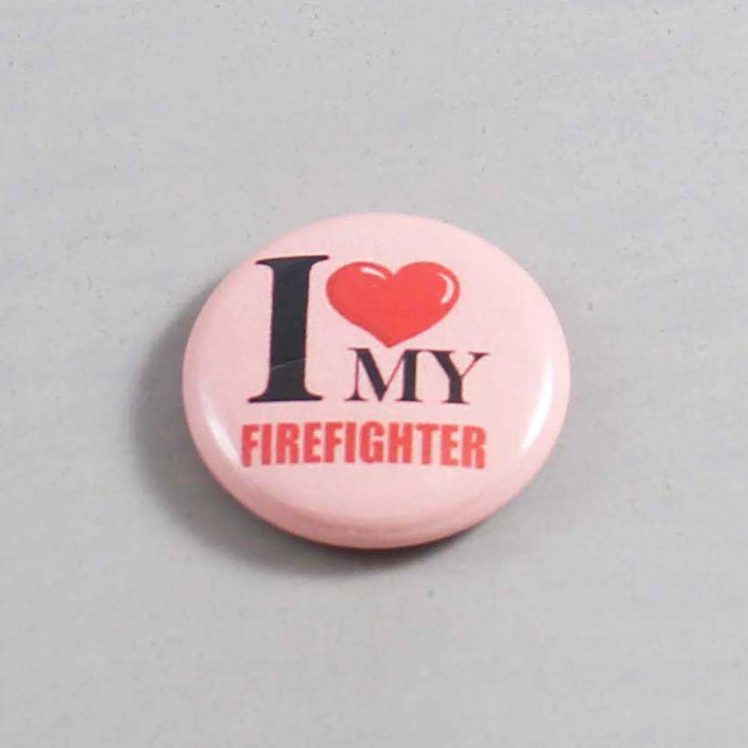 Firefighter Button 56