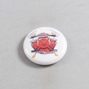 Firefighter Button 61