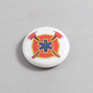 Firefighter Button 75