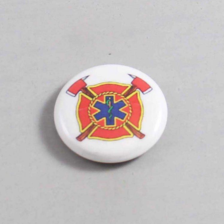 Firefighter Button 75