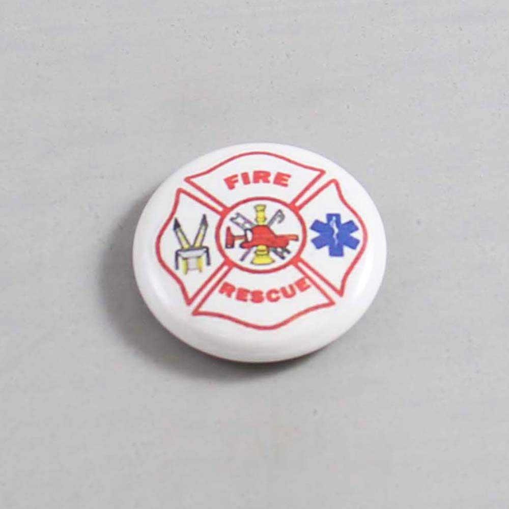 Firefighter Button 77