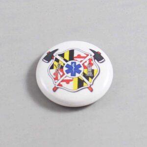 Firefighter Button 80