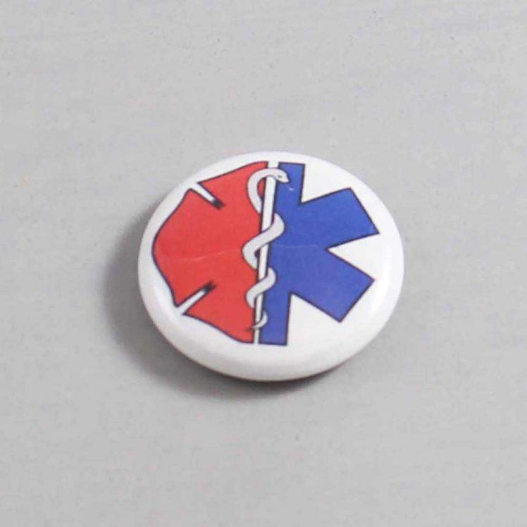 Firefighter Button 91