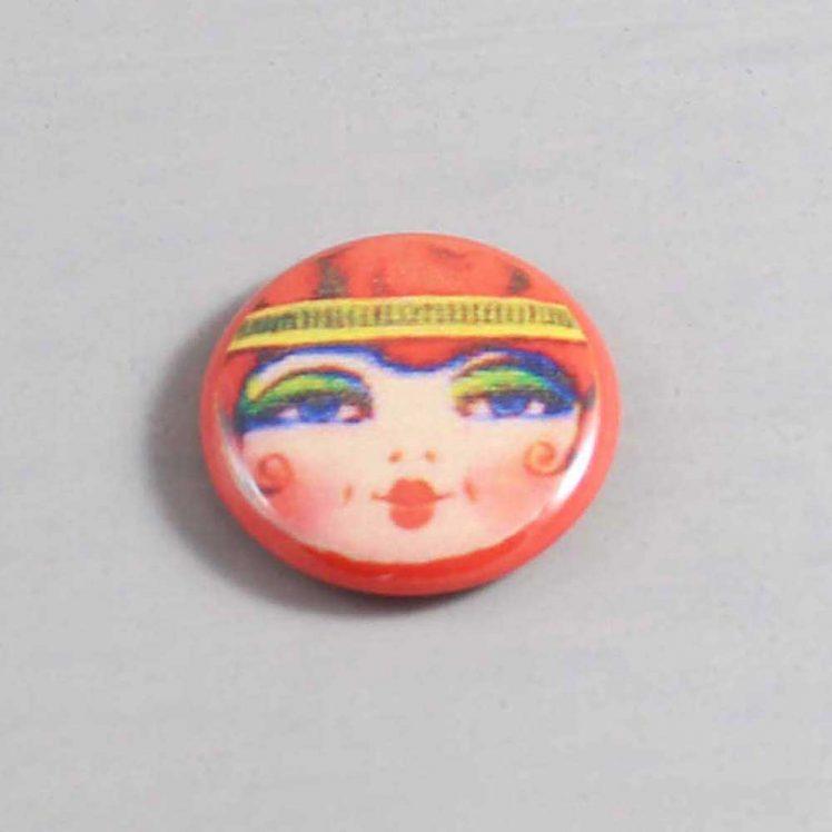 Flapper Button 08