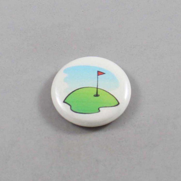 Golf Button 01 Ivory