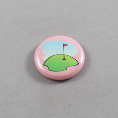 Golf Button 01 Pink