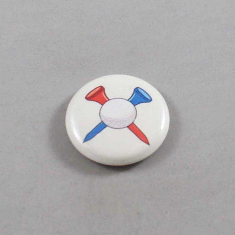 Golf Button 02 Ivory