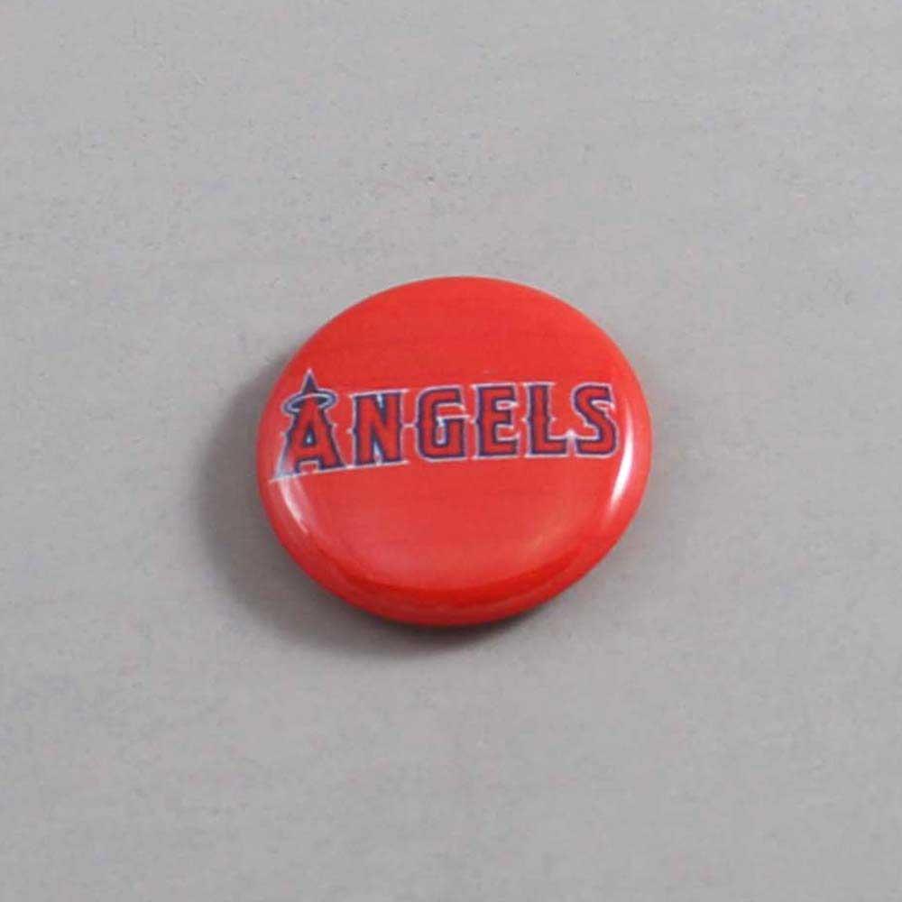 MLB Anaheim Angels Button 02