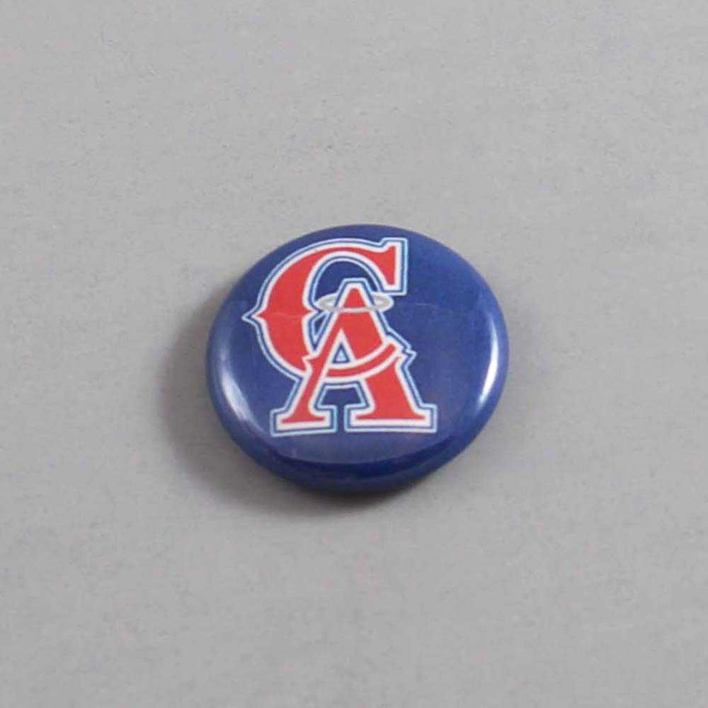 MLB Anaheim Angels Button 07