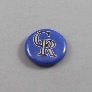 MLB Colorado Rockies Button 02