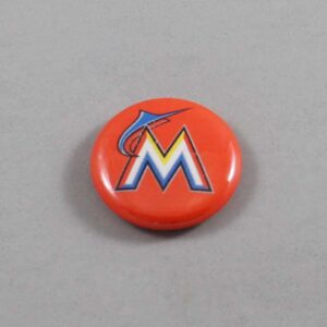 MLB Miami Marlins Button 02