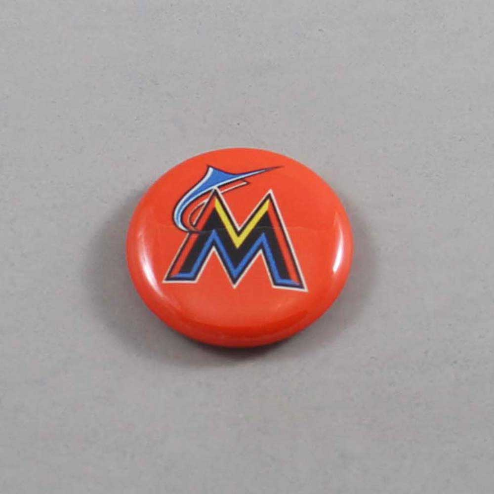 MLB Miami Marlins Button 04