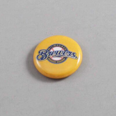MLB Milwaukee Brewers Button 01