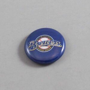 MLB Milwaukee Brewers Button 04