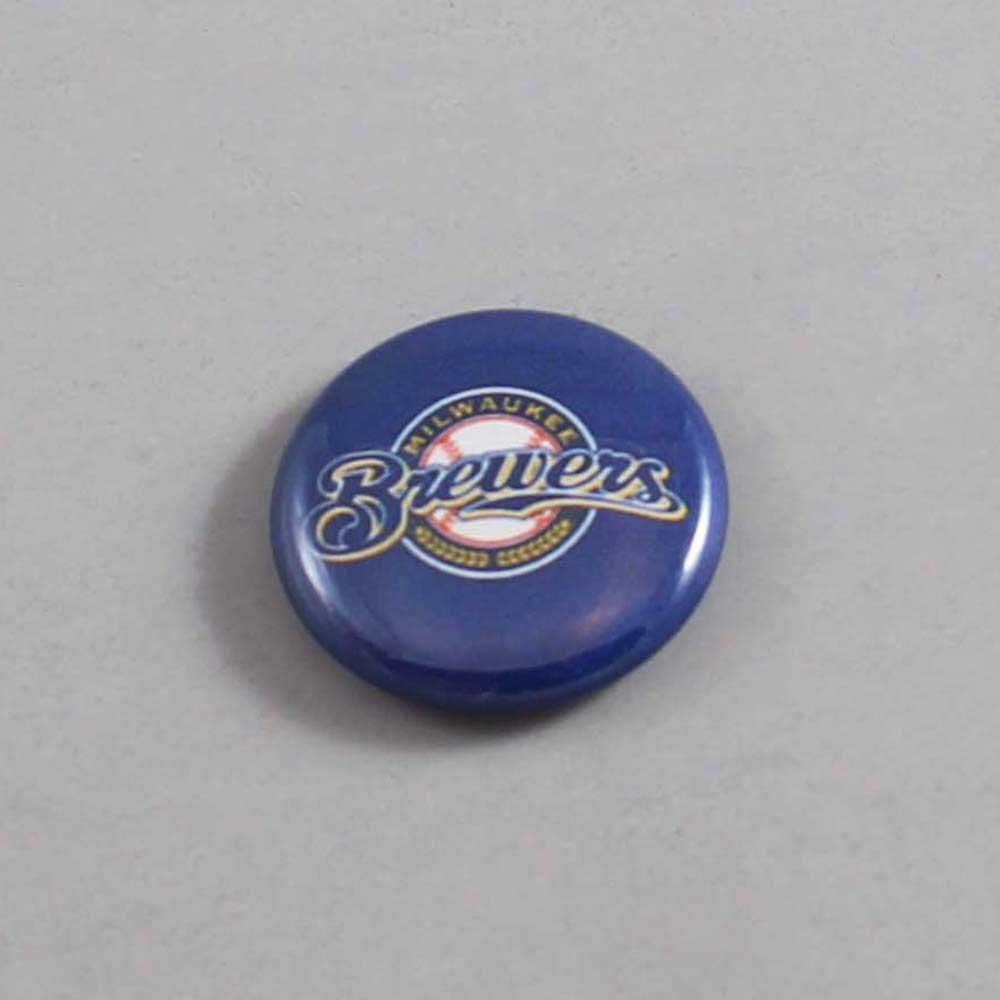 MLB Milwaukee Brewers Button 04