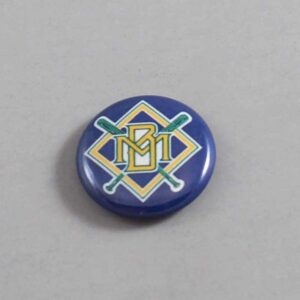 MLB Milwaukee Brewers Button 05