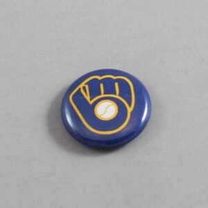 MLB Milwaukee Brewers Button 06