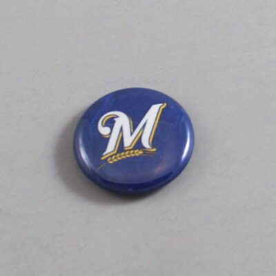 MLB Milwaukee Brewers Button 08