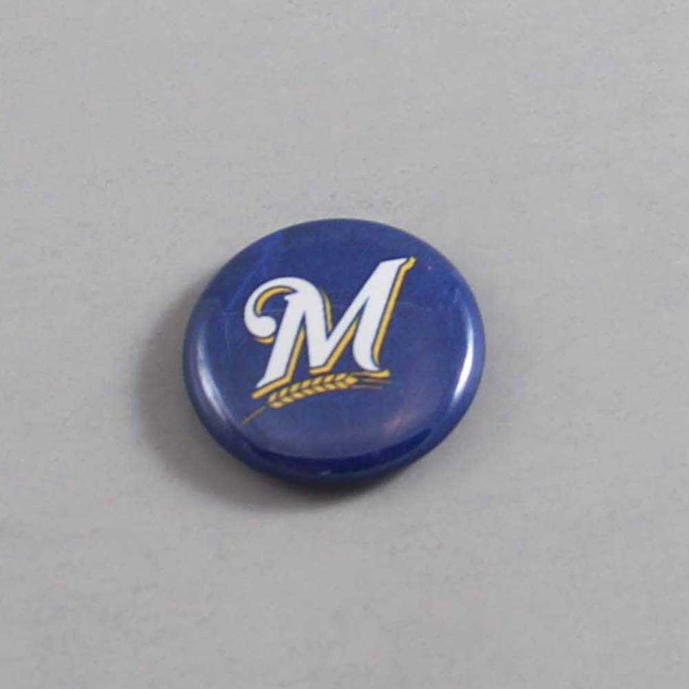 MLB Milwaukee Brewers Button 08