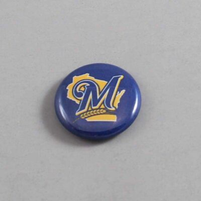 MLB Milwaukee Brewers Button 09