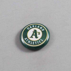 MLB Oakland Athletics Button 01