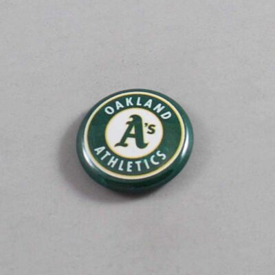 MLB Oakland Athletics Button 01