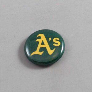 MLB Oakland Athletics Button 04
