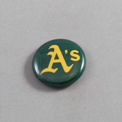 MLB Oakland Athletics Button 04