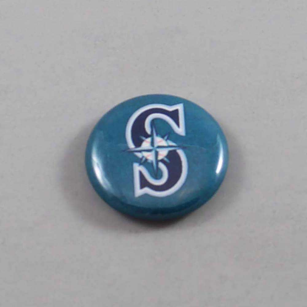 MLB Seattle Mariners Button 06