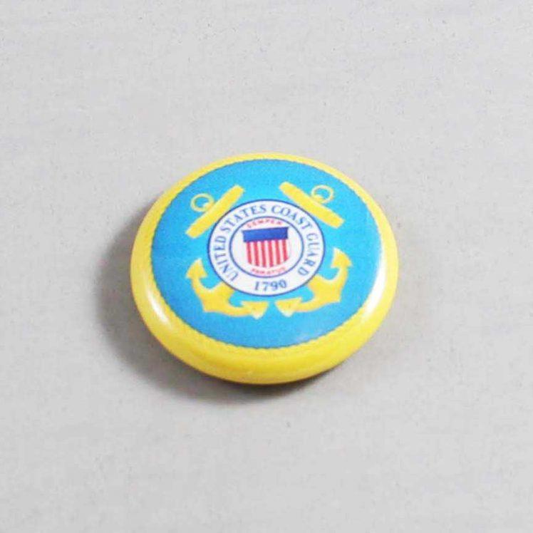 Military US Coast Guard Button 01