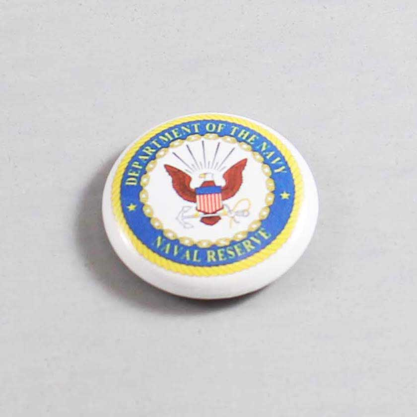 Military US Navy Reserve Button 01