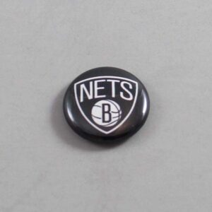 NBA Brooklyn Nets Button 01