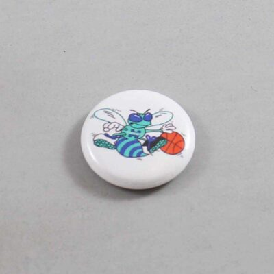 NBA Charlotte Hornets Button 01