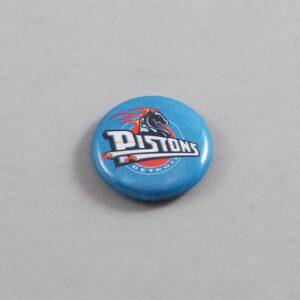 NBA Detroit Pistons Button 04