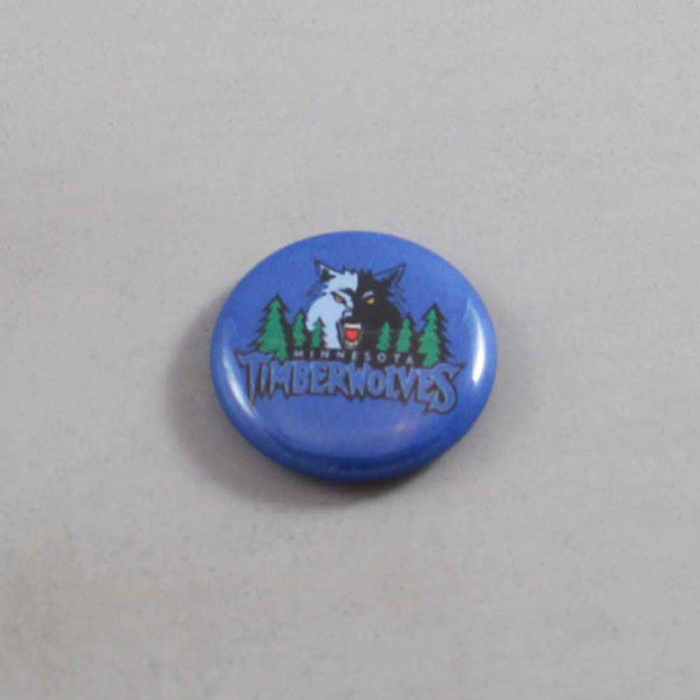 NBA Minnesota Timberwolves Button 01
