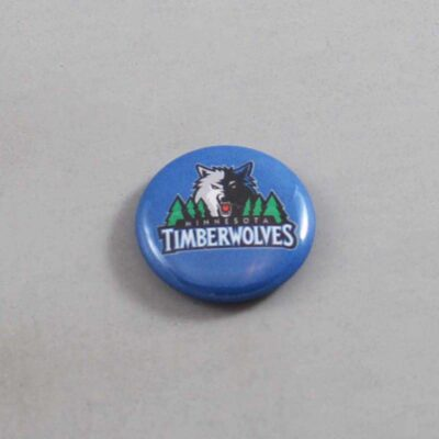 NBA Minnesota Timberwolves Button 02